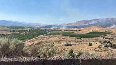 PHOTOS: Crews work to contain Batterman Fire in Douglas County