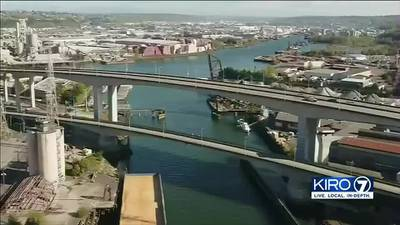 VIDEO: Businesses cling on as West Seattle Bridge nears final repair stage