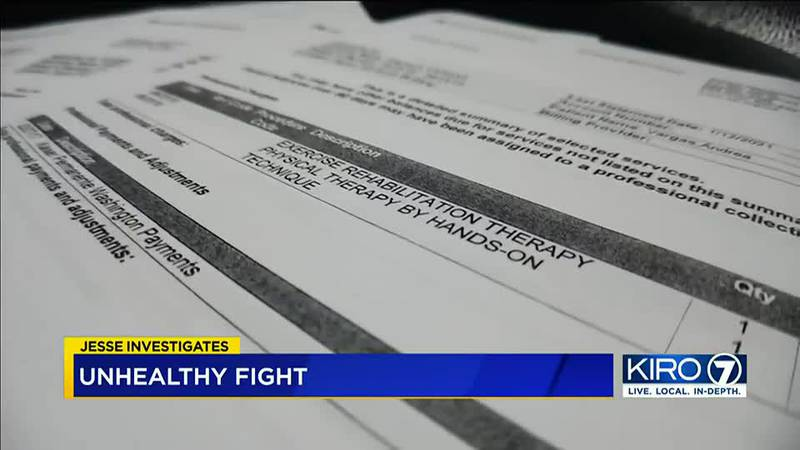 First, a motorcycle crash, then medical bills, then collections. Now, a lawsuit.