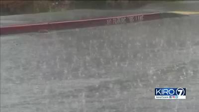 VIDEO: Rain, lightning and more hit Western Washington over 3 days