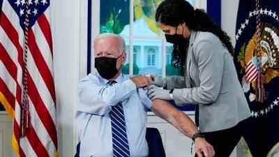 President Joe Biden gets COVID-19 booster shot