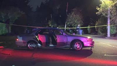 VIDEO: Officer fires shots after patrol car rammed