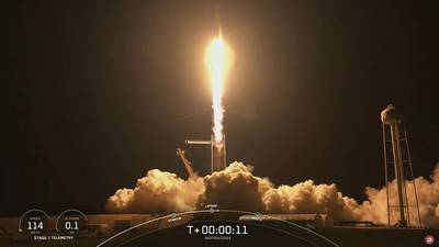 VIDEO: Everett data engineer among those on SpaceX launch
