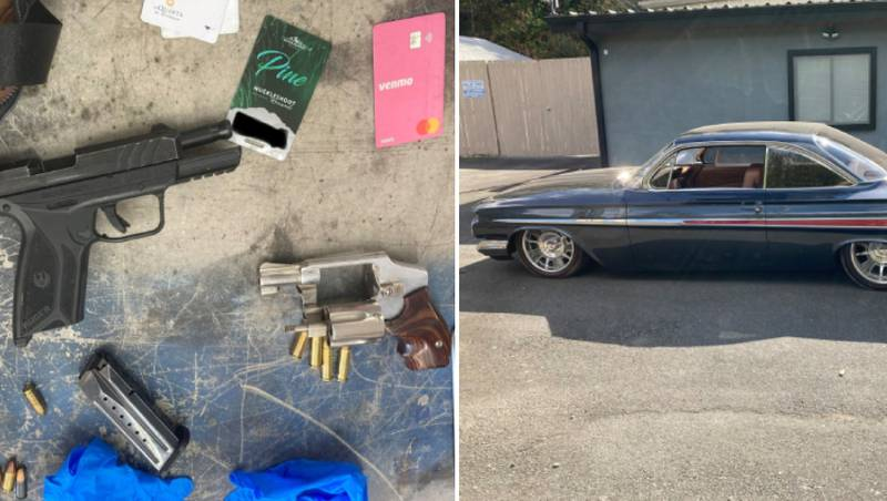Stolen cars, guns recovered in South Sound