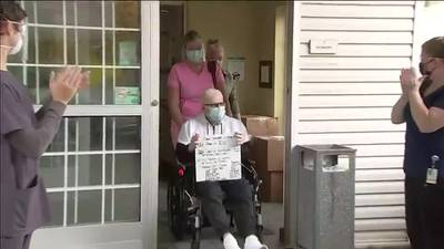 VIDEO: COVID-19 survivor gets to go home after yearlong fight
