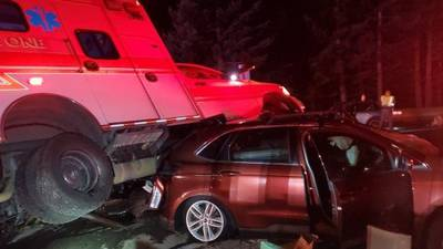PHOTOS: Semi crash closes I-90 over Snoqualmie Pass