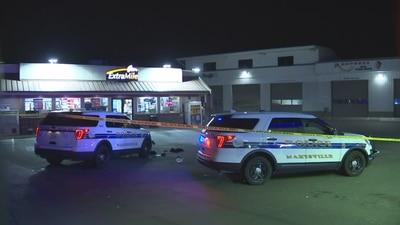 Man shot at Marysville gas station