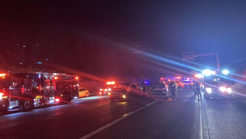 Hit-and-run crash on I-5