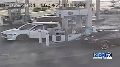 Surveillance video shows Renton shooting; suspect denies firing at officer