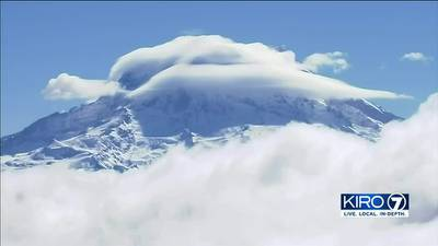 VIDEO: Mt. Rainier capped with more snow after dry summer