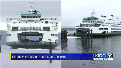 VIDEO: Washington State Ferry service reductions continue