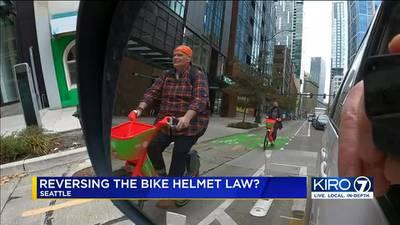 VIDEO: King County health board delays decision on bike helmet law