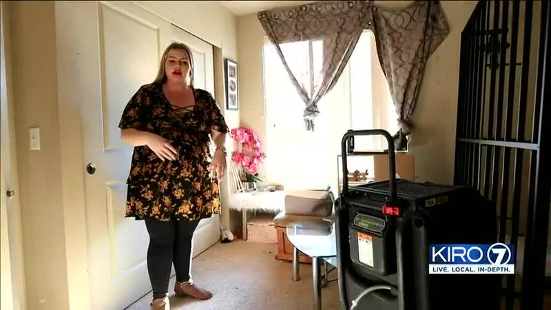 Her apartment building survived a fire. That was just the start of her problems.