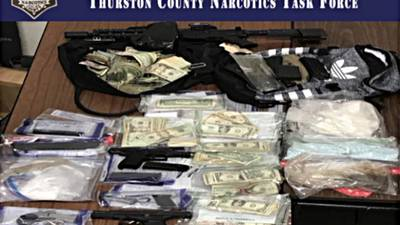 'Operation Crazy Ivan' nets drugs, guns and cash in Thurston County