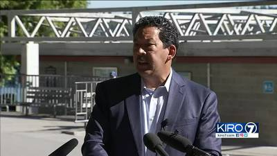 Mayoral candidate promises to clear encampments at Seattle parks, sidewalks