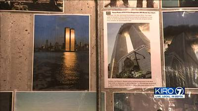 Memorial for victims of 9/11 unveiled at SEA Airport
