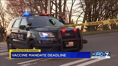 City of Seattle worker vaccine mandate deadline is midnight
