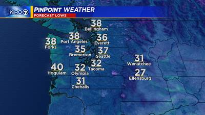 (10/11) Frosty start to Tuesday, coldest morning of Fall