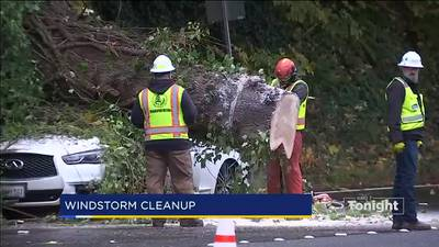 VIDEO: Thousands still without power after weekend storm