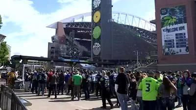 VIDEO: How Seahawks fans handled new COVID mandates