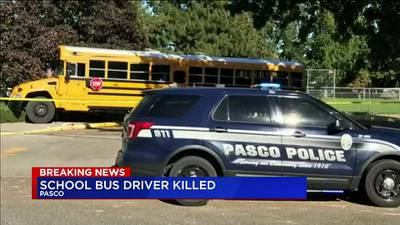 VIDEO: School bus driver killed in Pasco