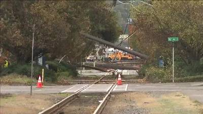 City light 'going back to the drawing board' after second set of power poles collapses
