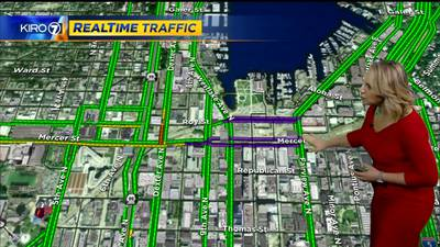 Seattle crane collapse: Mercer reopens for Monday morning commute