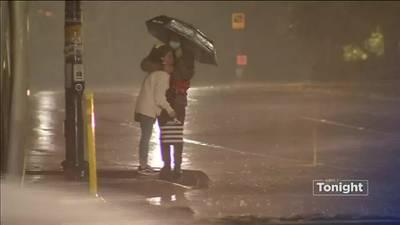 VIDEO: Wind and Rain pound Puget Sound