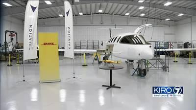 Arlington company makes fully electric jet