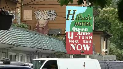 VIDEO: Queen Anne residents upset over motel believed to be taken over by squatters