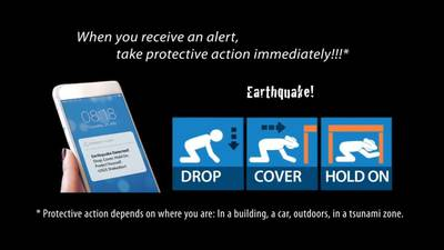 State asks people to opt-in to earthquake early warning system test alert