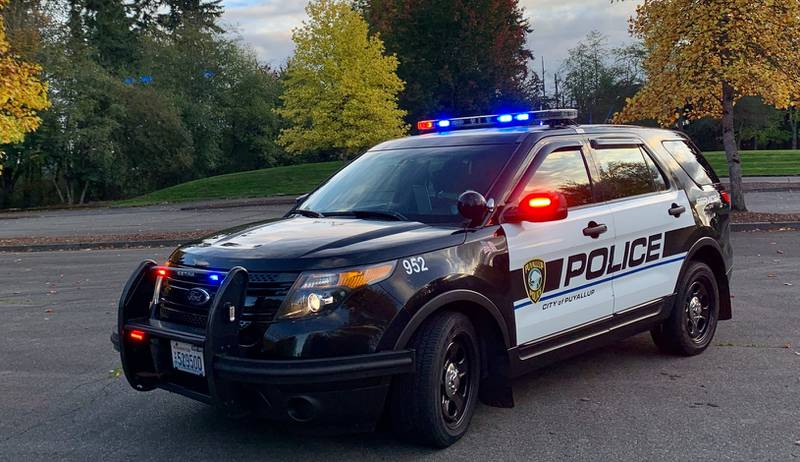 Puyallup Police car
