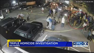 VIDEO: Surveillance video released of triple homicide in Des Moines