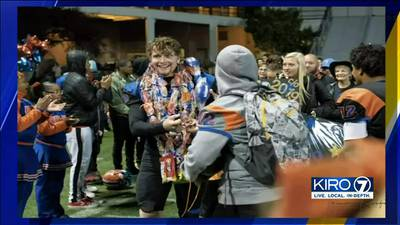'We'll never forget Connor': Rainier Beach football team honors murdered former player