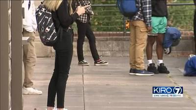 VIDEO: Tacoma students returned to classroom