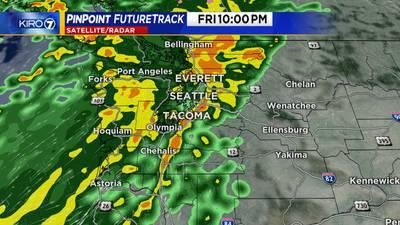 FORECAST: More rain Friday