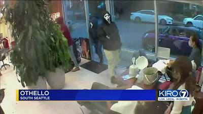 """""""Scream"""" masked suspects rob Seattle salon and customers at gunpoint"""