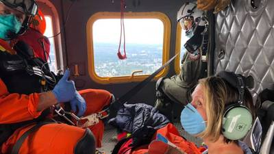 Woman saved by Snohomish County volunteer rescue team on Pacific Crest Trail