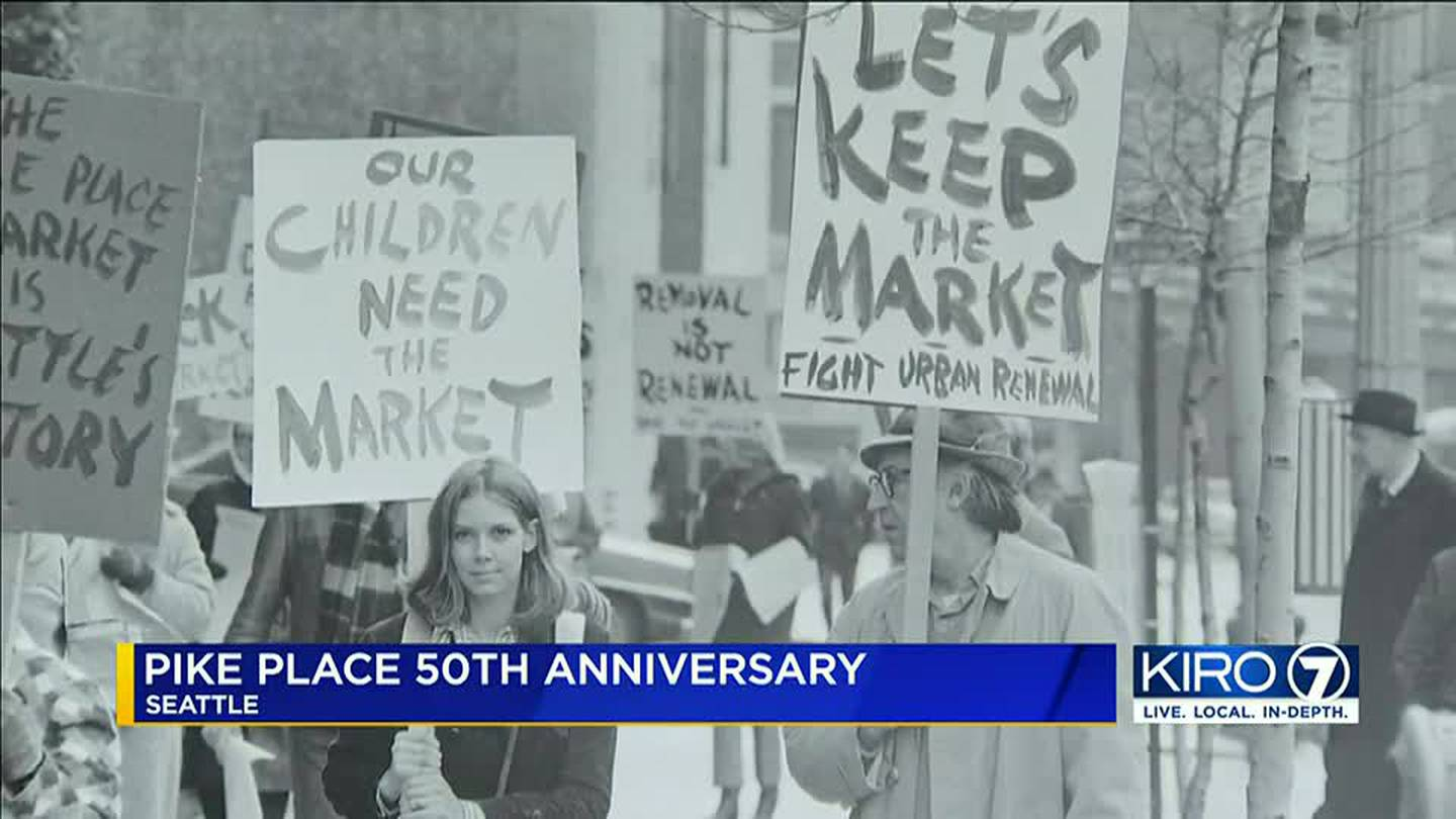 Pike Place Market celebrates 50 years since it was saved from demolition