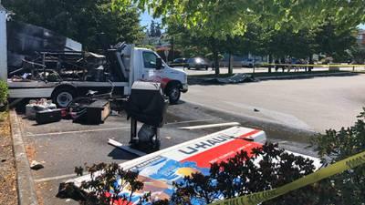 Dozens of Edmonds residents narrowly avoid danger in U-Haul truck explosion