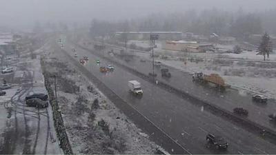 Burst of snow returns to Western Washington, heavy rain expected to follow