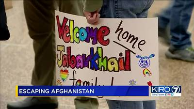 Kent family reunited after rescue from Afghanistan