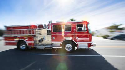 Woman hurt in Edmonds-area fire