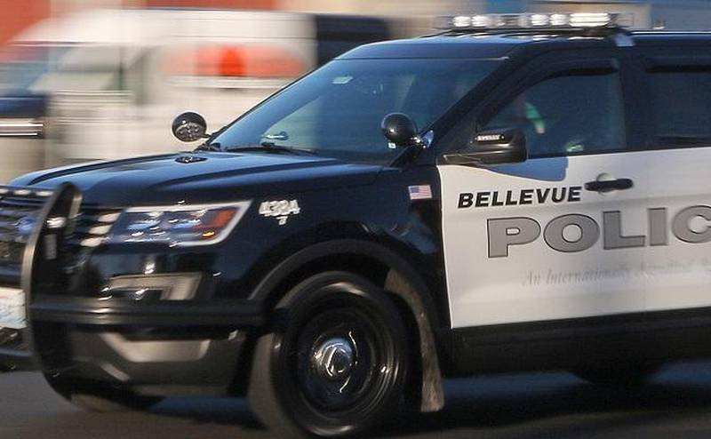 File photo of a Bellevue Police Department SUV.