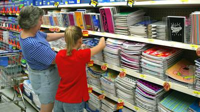 Supply chain problems and shortages make back-to-school shopping more challenging