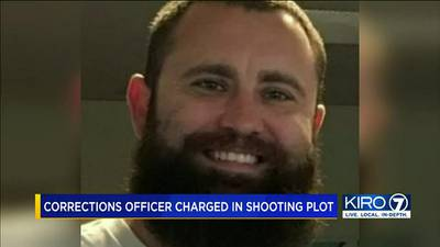VIDEO: DOC officer charged in shooting plot