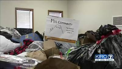 Donations for Tukwila fire victims filling up church