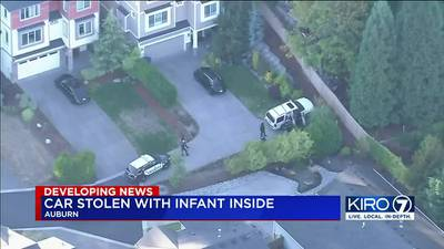VIDEO: Suspect who allegedly stole car with infant inside could appear in court Tuesday