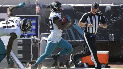Jacksonville's Jamal Agnew ties NFL record with 109-yard return for TD