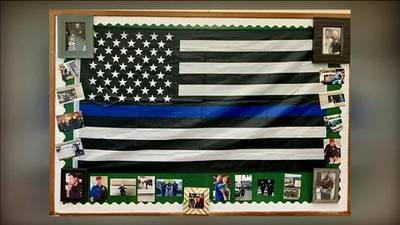 Marysville Schools orders teacher to remove pro-police flag